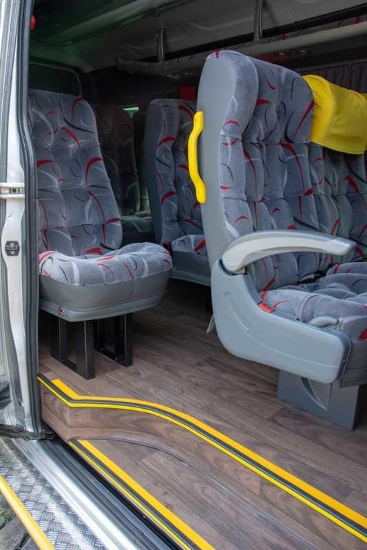 Empresa de Locação de Van Executiva Luxo Santa Cruz - Locação de Van Executiva para Locação