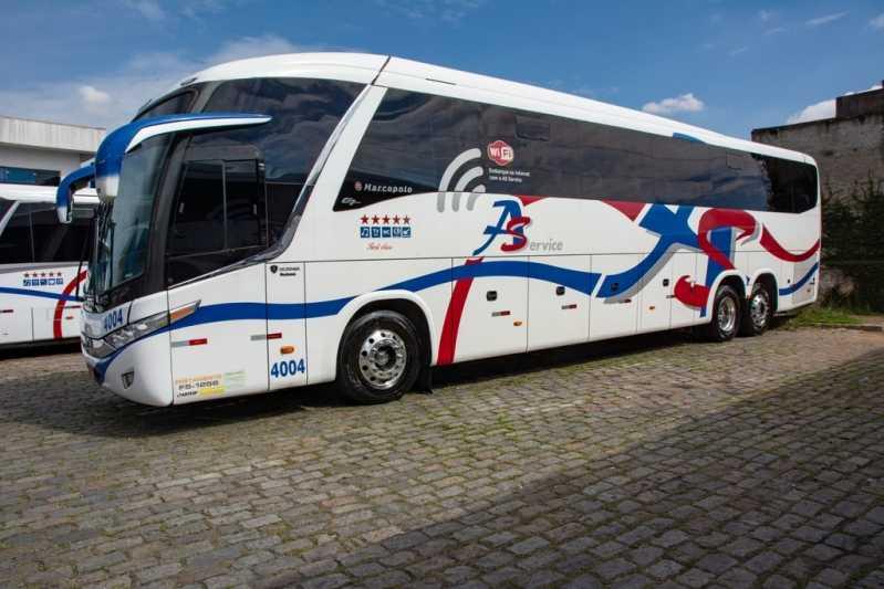 Empresa de ônibus Fretado Preço Santana - Fretamento de Micro ônibus
