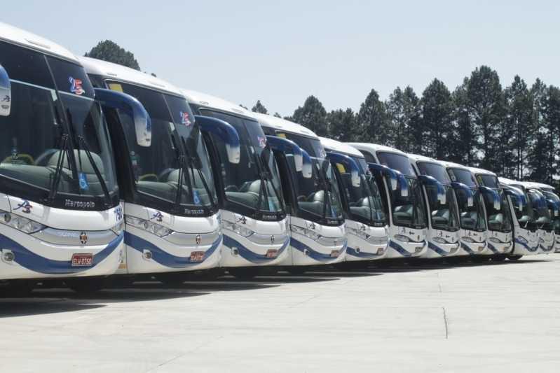 Fretamento de ônibus Locar Orçamento Paulínia - Fretamento de ônibus de Viagem