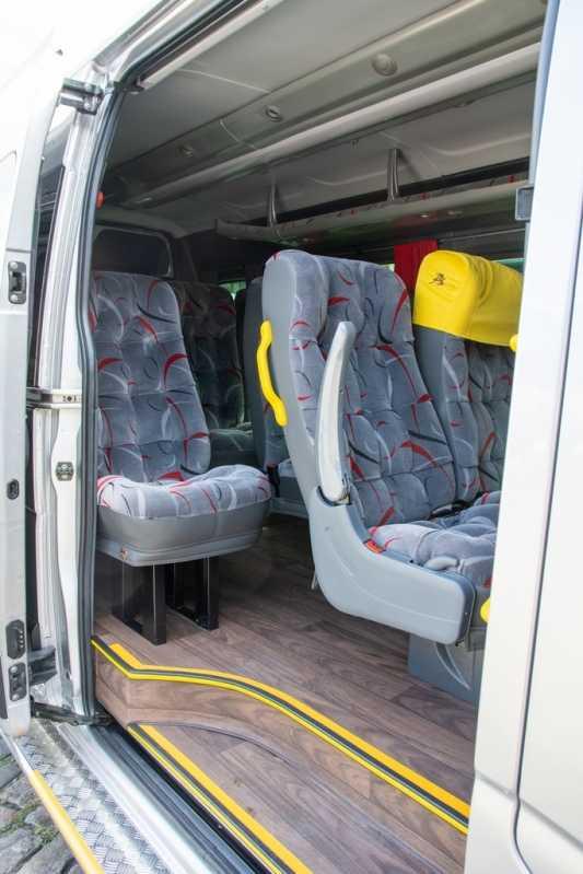 Fretamento de Van para Funcionários Preço Araraquara - Fretamento de Vans