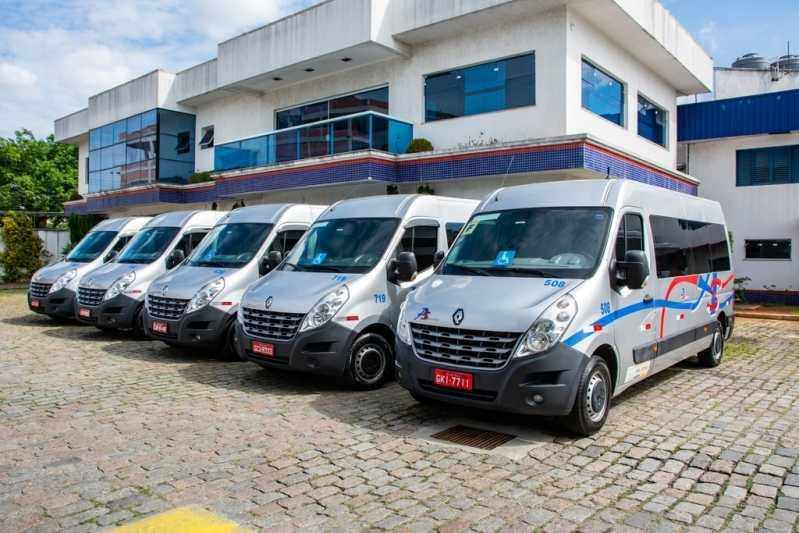 Fretamento de Van para Funcionários Vila Ester - Fretamento ônibus