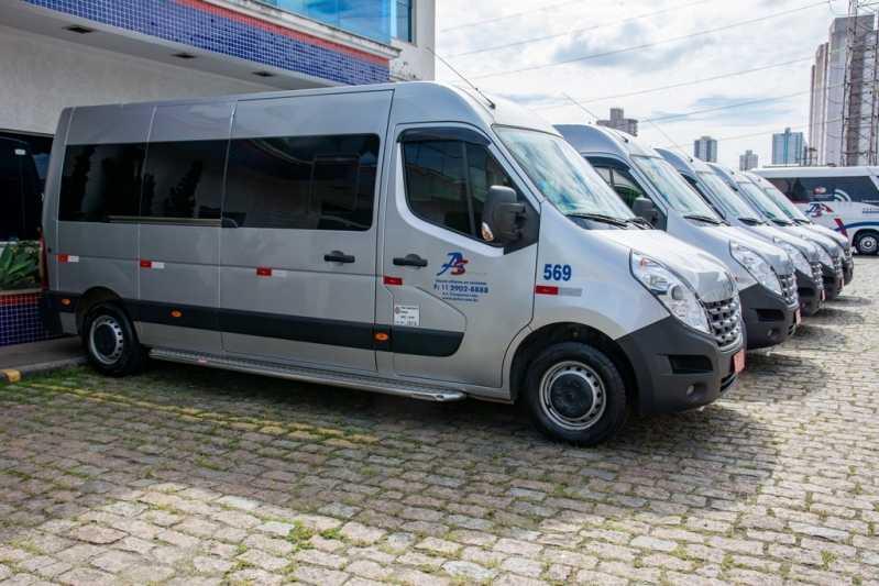 Fretamento de Vans Guarulhos - Fretamento de Van para Funcionários