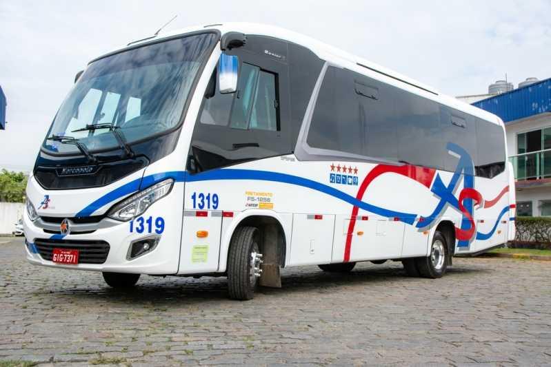 Fretamentos de Micro ônibus para Eventos Moema - Fretamento de Vans