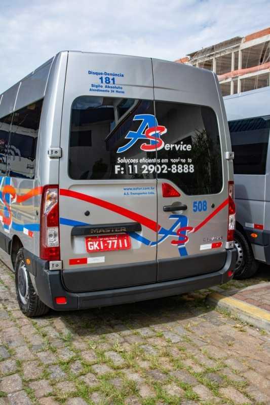 Locação de Van Executiva Aluguel Rua Zilda - Locação de Van Executiva de Luxo