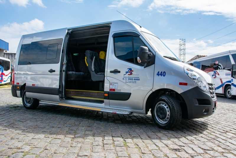Locação de Van Executiva para Empresa Anália Franco - Locação de Van Executiva para Empresa