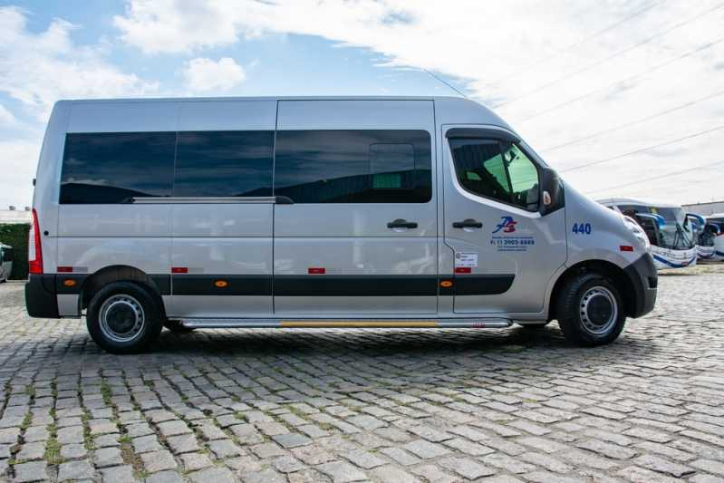 Locação de Van Executiva para Locação Vila Nova Conceição - Locação de Van Executiva para Viagem