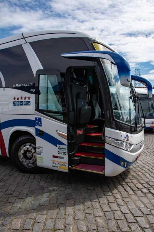ônibus Fretamentos para Eventos Avenida Deputado Emilio Carlos - Fretamento ônibus