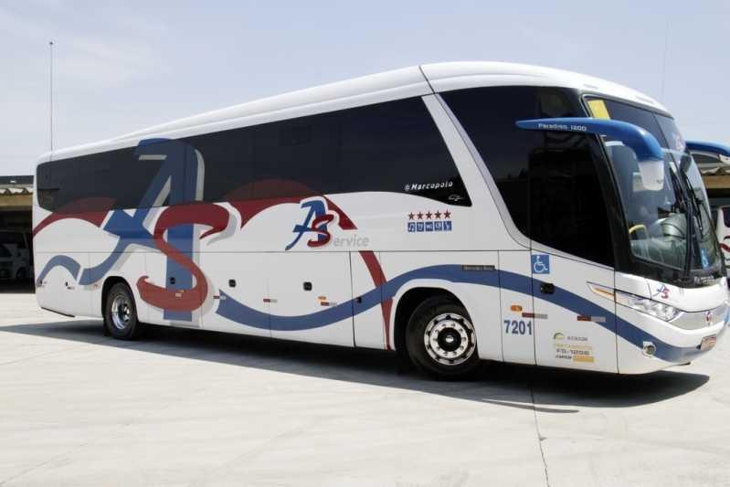 ônibus para Alugar São Vicente - Aluguel de ônibus para Excursão