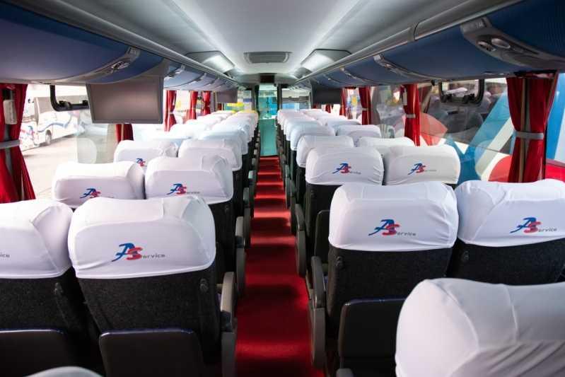 ônibus para Fretamento Preço Perus - Fretamento de Vans