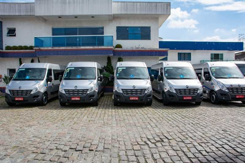 Serviço de Locação de Van Executiva com Motorista Parque São Rafael - Locação de Van Executiva para Eventos