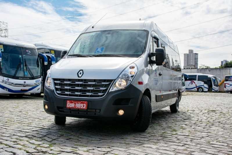 Serviço de Locação de Van Executiva para Locação Vila Ré - Locação de Van Executiva com Motorista