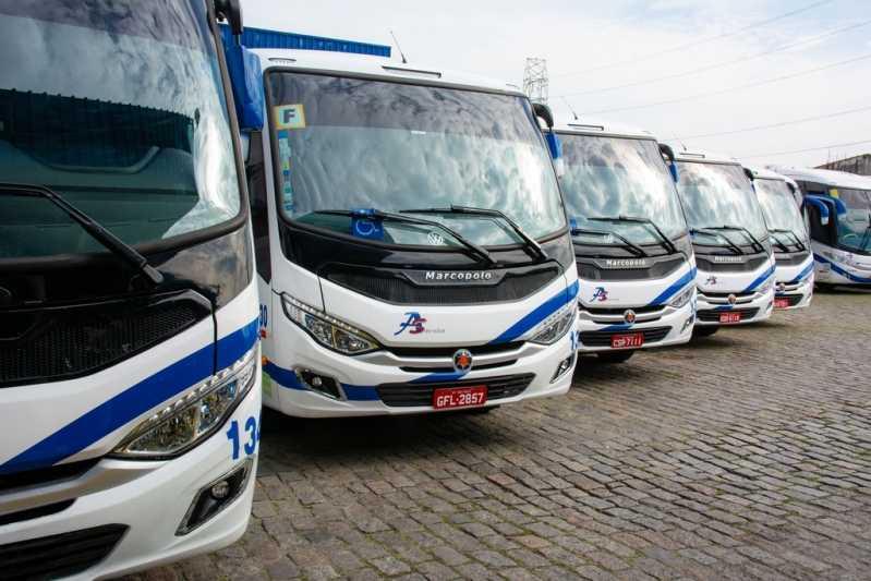 Serviço para Fretamento de Micro ônibus para Eventos Água Funda - Fretamento de Van para Funcionários