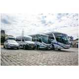 aluguel de vans com motorista valores Vila Tramontano