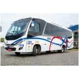 cotação de aluguel de micro ônibus para viagem Americana