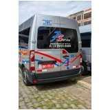 empresa de fretamento de vans para funcionários orçamento Cidade São Mateus