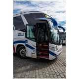 fretamento de ônibus preço Aricanduva