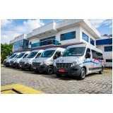 locação de van executiva com motorista valores Chácara Inglesa