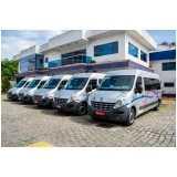 locação de van executiva para viagem Caieiras