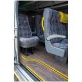 locação de vans para passeio orçamento Itaim Bibi