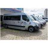 locação de vans para viagem Caieiras