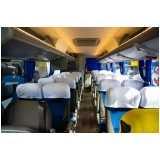 micro ônibus com banheiro aluguel Santa Isabel