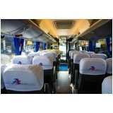 fretamento de micro ônibus de viagem
