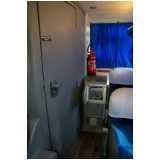 onde tem micro ônibus com banheiro aluguel São Carlos