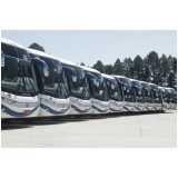 fretamento de ônibus de viagem
