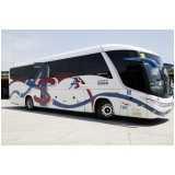 fretamento ônibus de viagem