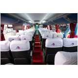 ônibus para fretamento preço Perus
