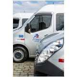 preço do aluguel de vans para viagem São Mateus