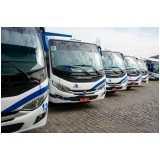 serviço para fretamento de micro ônibus para eventos Sorocaba