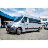 serviço para fretamento de van para funcionários Guarujá