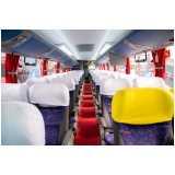 serviço para fretamento ônibus Bertioga